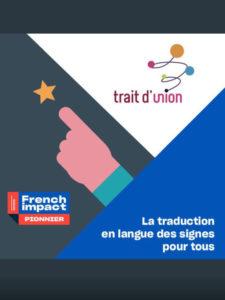 Pionnier French Impact Trait d'union