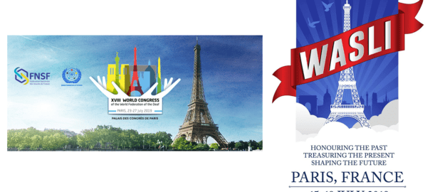 Congrès WASLI et WFD 2019