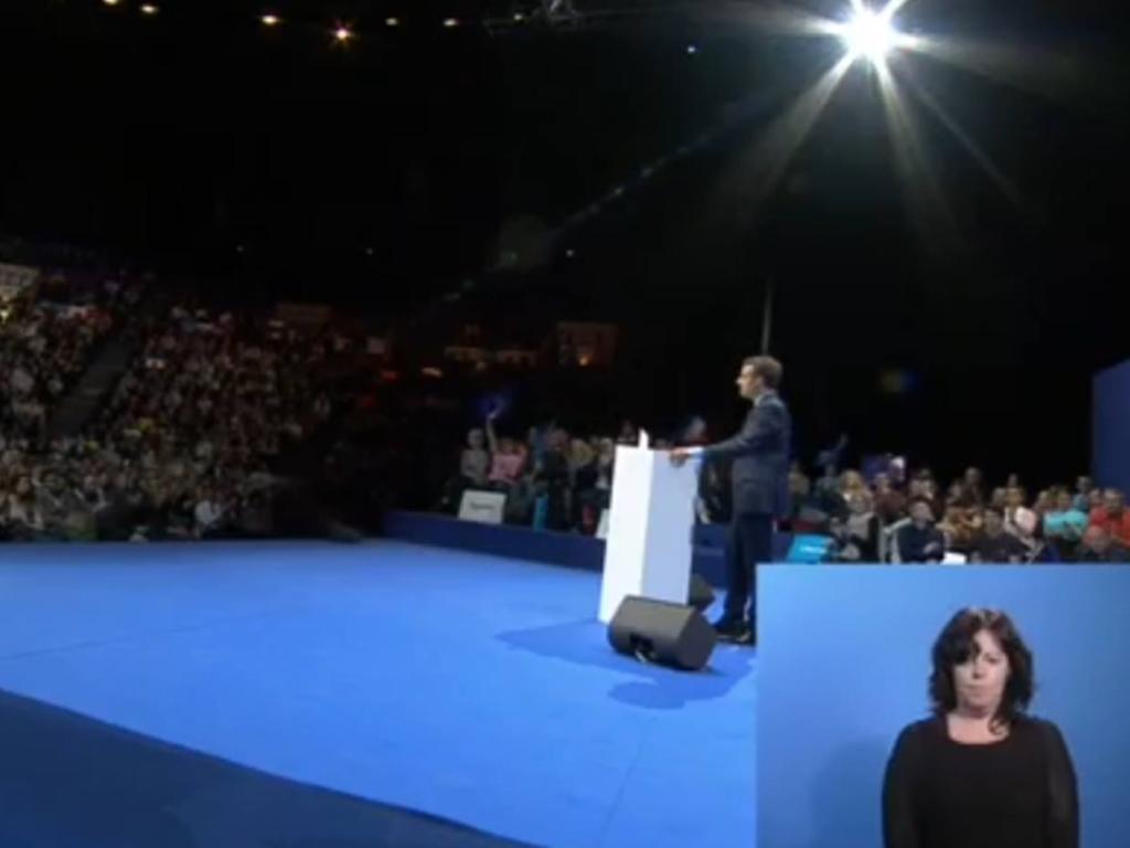 Meeting élection présidentielle 2017